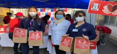Personal de salud de La Serena y Coquimbo es homenajeado mediante solidaria donación