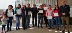 7 jóvenes campesinos de Combarbalá podrán mejorar sus infraestructuras productivas