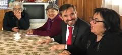 Adultos mayores se informan acerca del proyecto de Reforma a las Pensiones