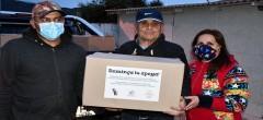 Dominga dona más de 1.500 cajas de alimentos a familias vulnerables de La Higuera, Coquimbo y La
